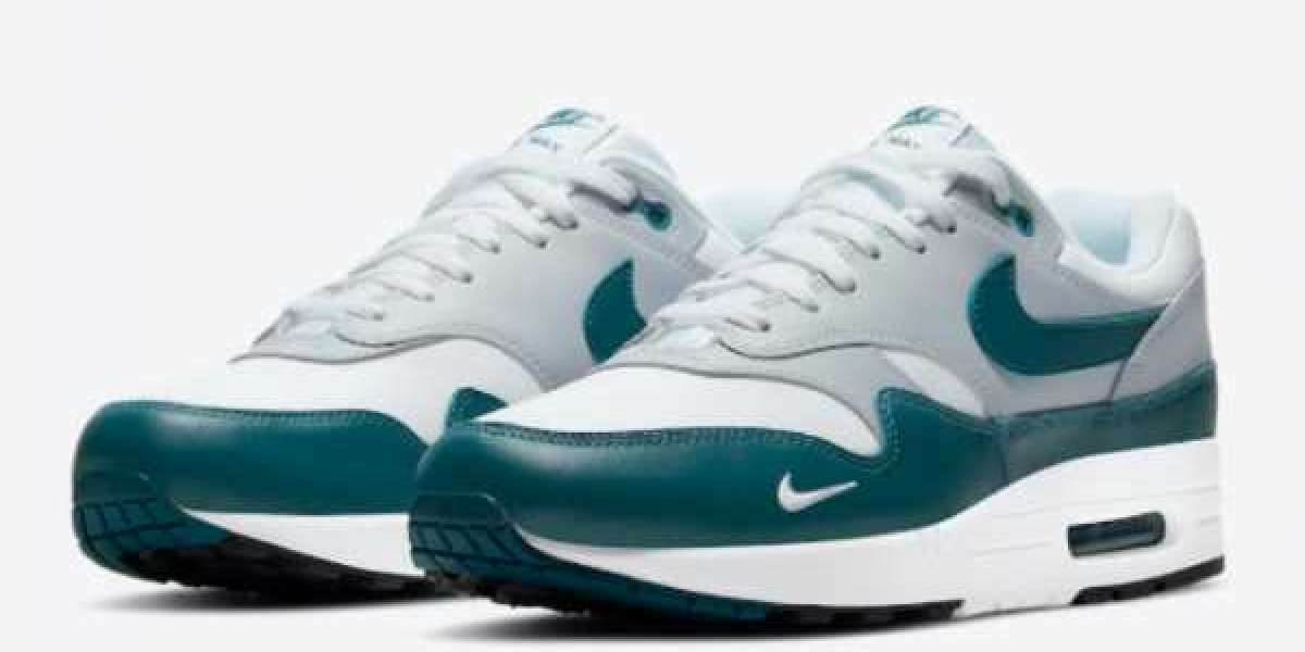 "When Will The Nike Air Max 1 ""Dark Teal Green"" DH4059-101 Be Released ?"