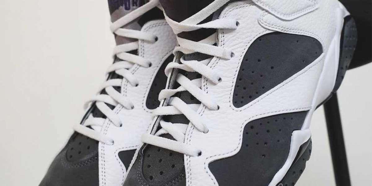 "CU9307-100 Air Jordan 7 ""Flint"" Basketball Shoes For Sale"