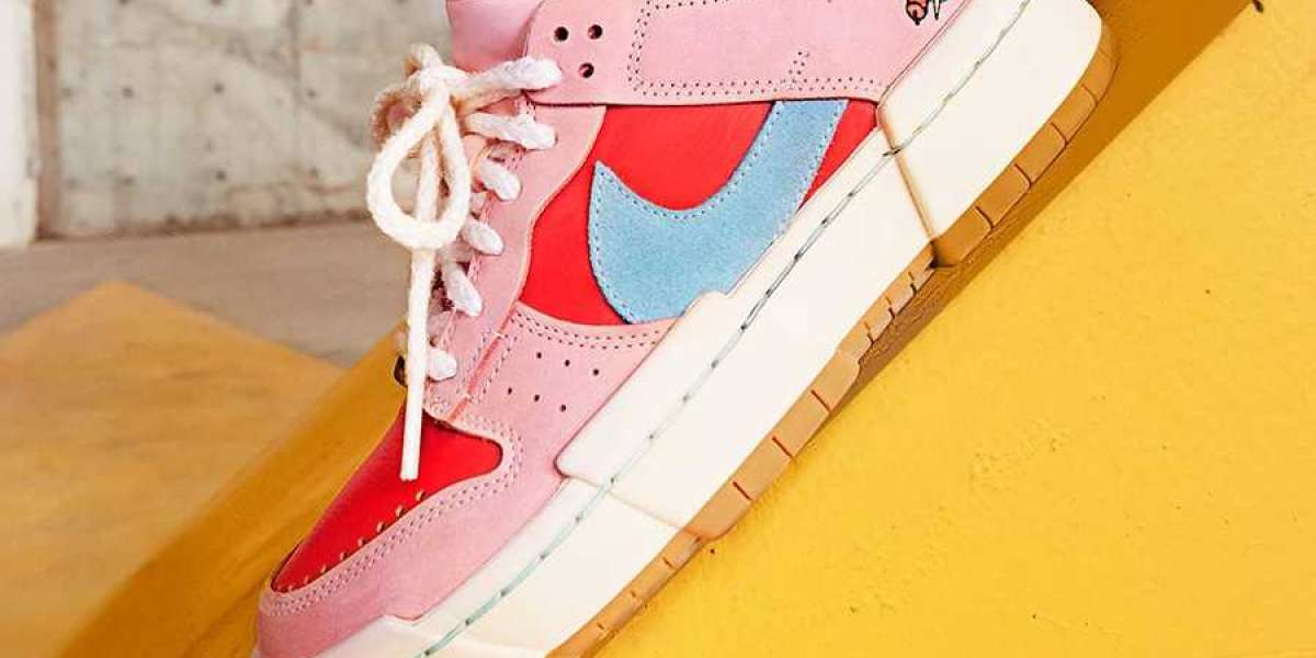 """Latest 2021 Nike Dunk Low Disrupt """"Firecracker"""" official images"""