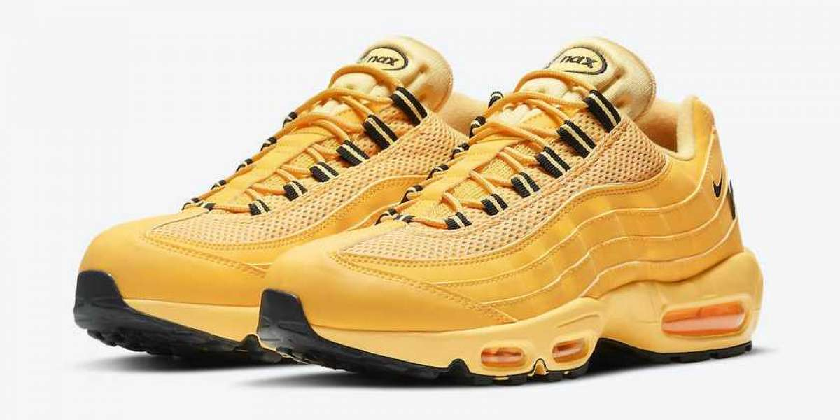 "DH0143-700 Nike Air Max 95 ""NYC Taxi"" is expected to go on sale on February 26"