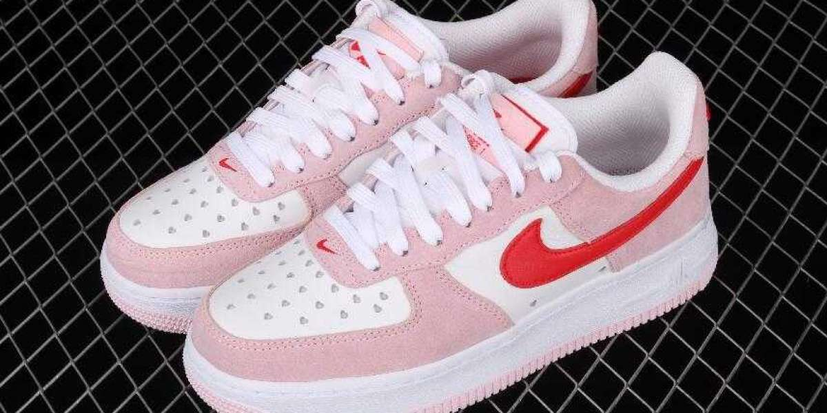The best selling Air Force 1 Low Valentine's Day 2021