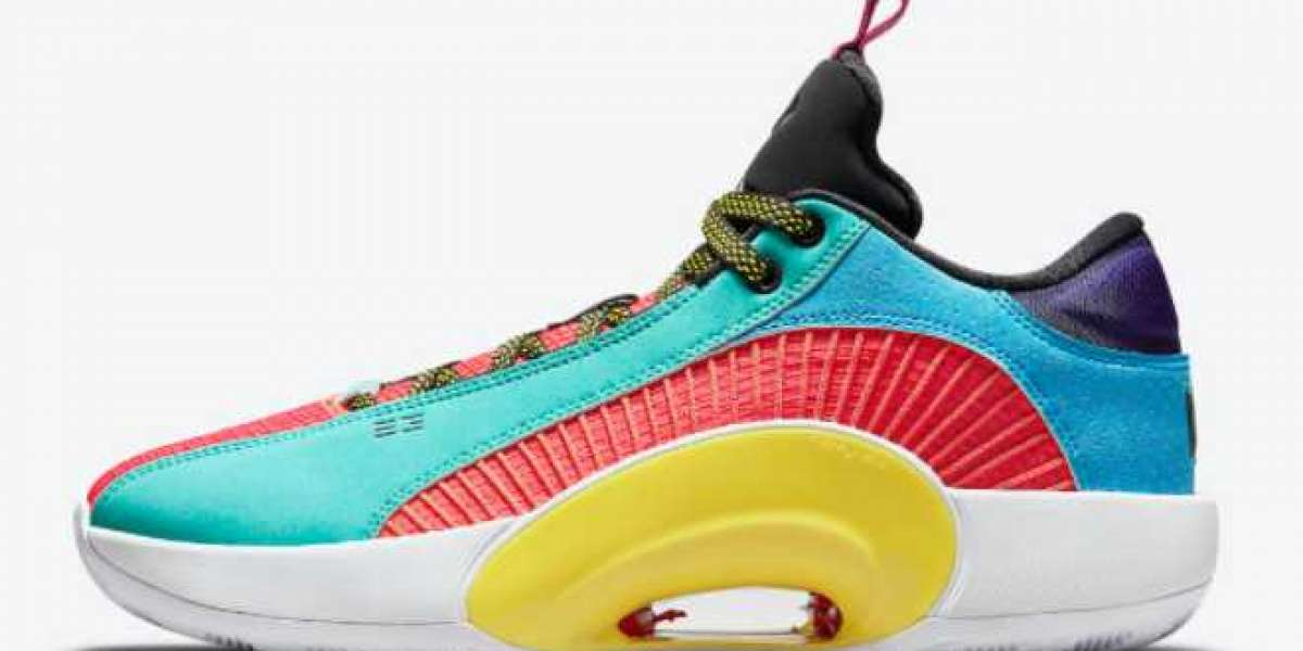 "The New Air Jordan 35 Low ""Reflexology"" Color Scheme"