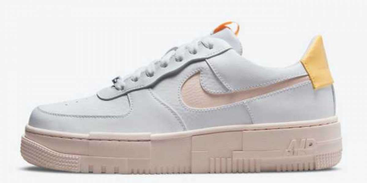 "Where To Buy Nike Air Force 1 Pixel ""Arctic Orange"" Lifestyle Shoes DM3054-100 ?"