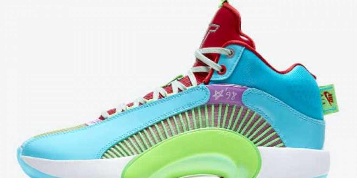 DJ2831-300 Retro Air Jordan 35 Low Reflexology Basketball Shoes