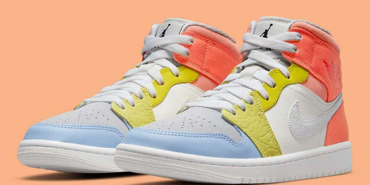 "DJ6908-100 Air Jordan 1 Mid ""To My First Coach"" will be released soon"