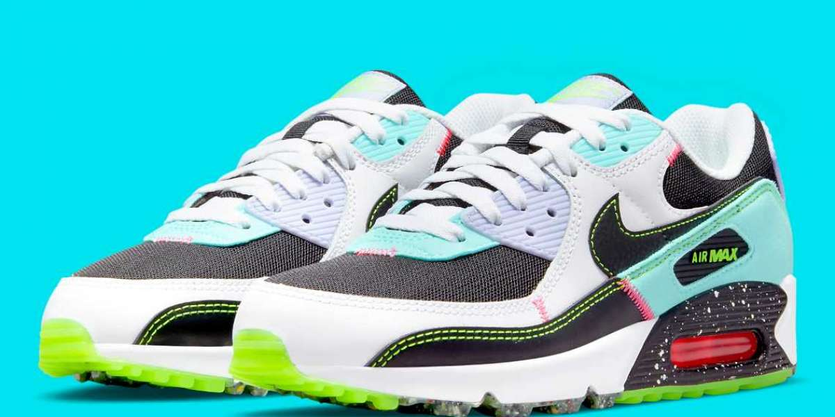 """2021 Latest Nike Air Max 90 """"Left Over, Made Right""""  DJ5922-001"""
