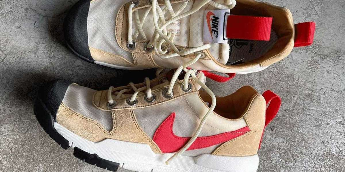 DA6701-200 Latest Tom Sachs x Nike Mars Yard 2.5 Sneakers 2021